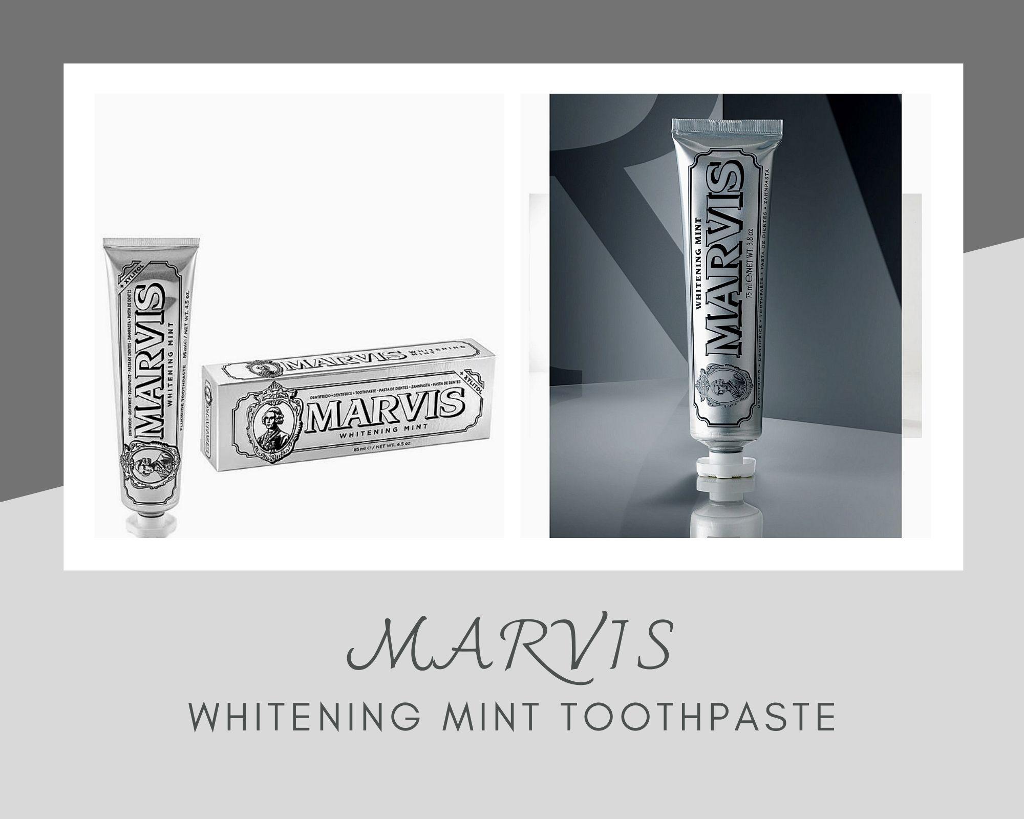 Marvis美白薄荷牙膏