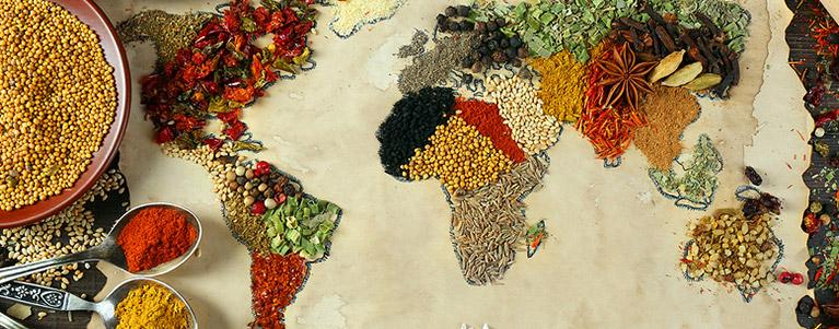 全球美食国度大盘点