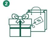 通过TopCashback前往您喜爱的商家官网购物。