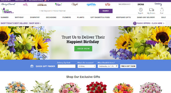 1800flowers black friday deals