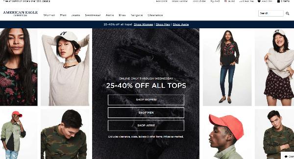 AEO Homepage Image