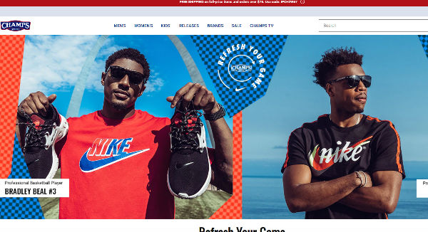 Champs Sports Coupons, Cashback & Discount Codes TopCashback