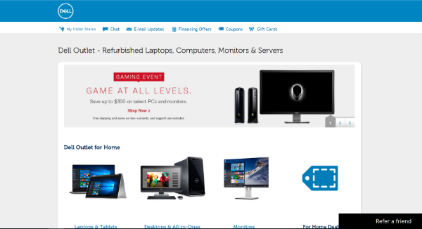 Dell outlet server coupons