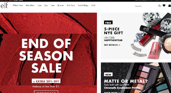 e.l.f. Homepage Image