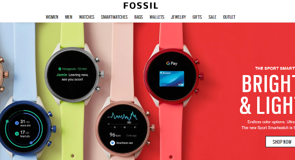 Fossil Black Friday Sales Coupons Cashback Discount Codes