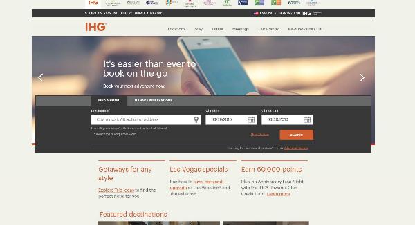 IHG Homepage Image