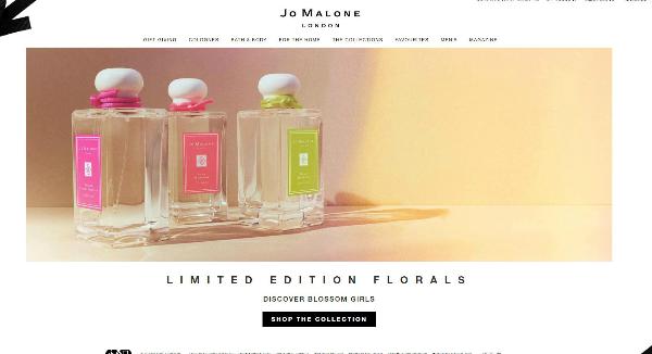 Jo Malone Homepage Image