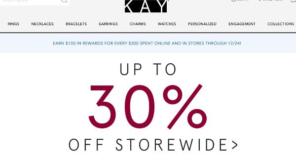 Kay Jewelers Coupons Cashback Discount Codes Topcashback