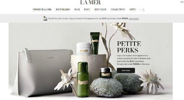 La Mer Homepage Image