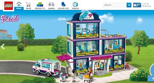 LEGO Homepage Image