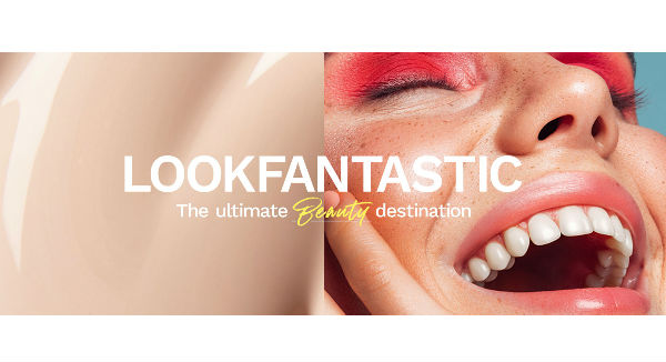 Lookfantastic US Homepage Image