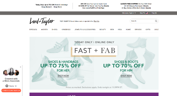 Lord and Taylor Image
