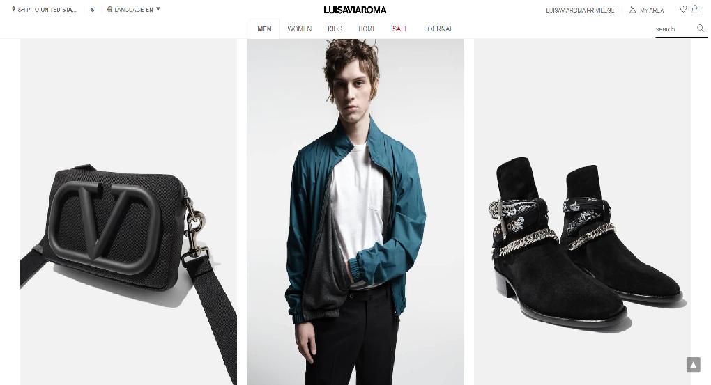 LUISAVIAROMA Homepage