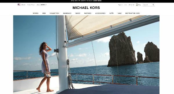 Michael Kors Homepage Image