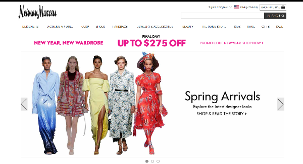 Neiman Marcus Homepage Image