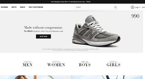 reputable site 7a52e 5d0d5 Shop online for a diverse selection of stylish athletic gear. You ll love New  Balance s shoes, accessories, sports bags, apparel and more.