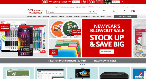 Office Depot® and OfficeMax® Coupons, Cashback & Discount