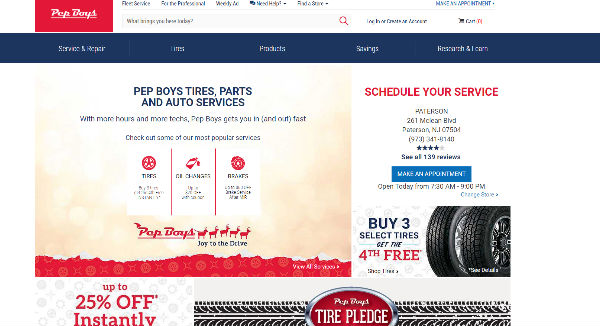 Pep Boys Coupons Cashback Discount Codes Topcashback