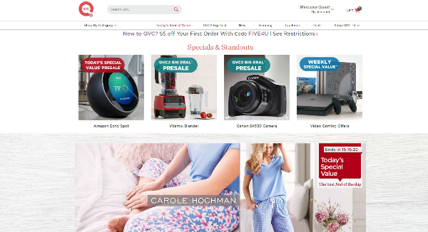 QVC Coupons, Cashback & Discount Codes - TopCashback