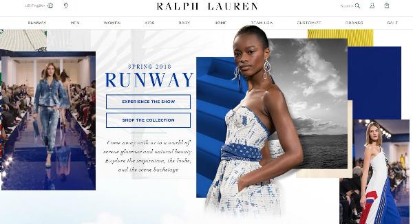 Ralph Lauren  Homepage Image