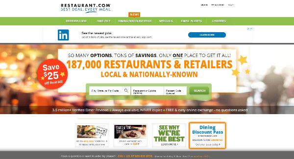 Restaurant com Coupons, Cashback & Discount Codes - TopCashback
