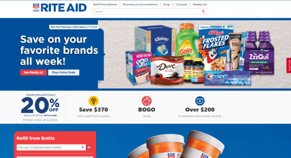 Rite Aid Coupons, Cashback & Discount Codes - TopCashback