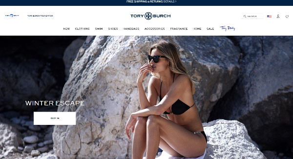 Tory Burch Homepage Image