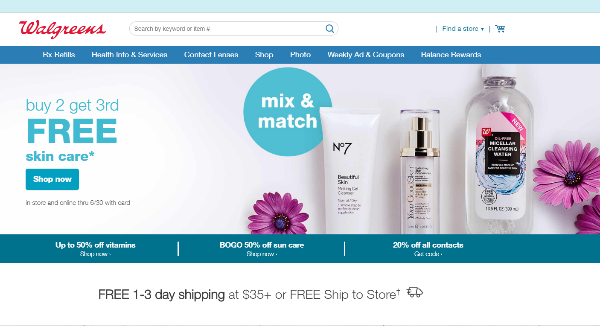 Walgreens Coupons, Cashback & Discount Codes - TopCashback