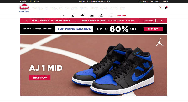 wss warehouse shoe sale coupons