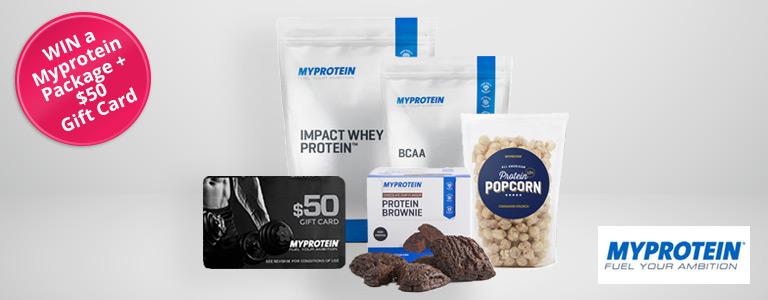 Myprotein Giveaway