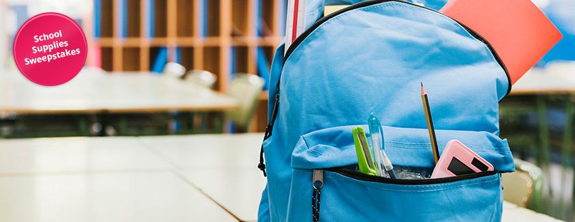 School Supplies Sweepstakes