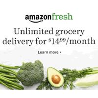 亚马逊鲜蔬免费试用