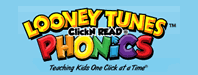 Looney Tunes ClickN READ Phonics Logo