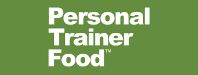 Personal Trainer Food Logo