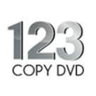 123 Copy DVD Square Logo
