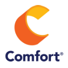 Comfort Inn by Choice Hotels Square Logo