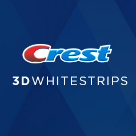 Crest White Smile Square Logo