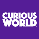 Curious World Square Logo