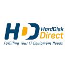 Hard Disk Direct Square Logo
