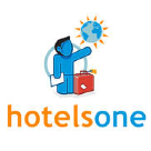 HotelsOne Square Logo