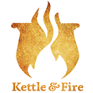 Kettle & Fire Square Logo