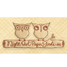 Night Owl Paper Goods Square Logo