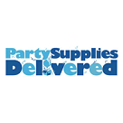 Party Supplies Delivered Square Logo