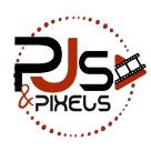 PJs and Pixels Square Logo