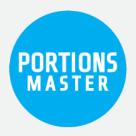 Portions Master Square Logo