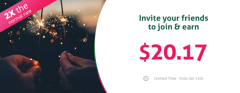 Tell a friend bonus event